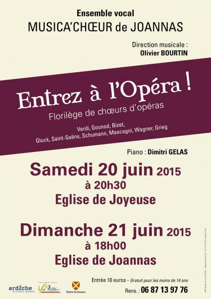 Musica choeur joannas affiche a3