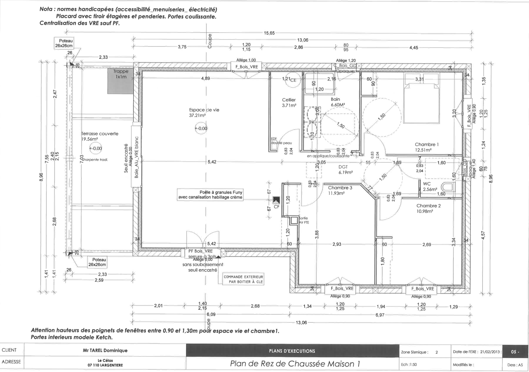 Plan maison handicap awesome hd wallpapers plan maison for Plan de maison pour handicape
