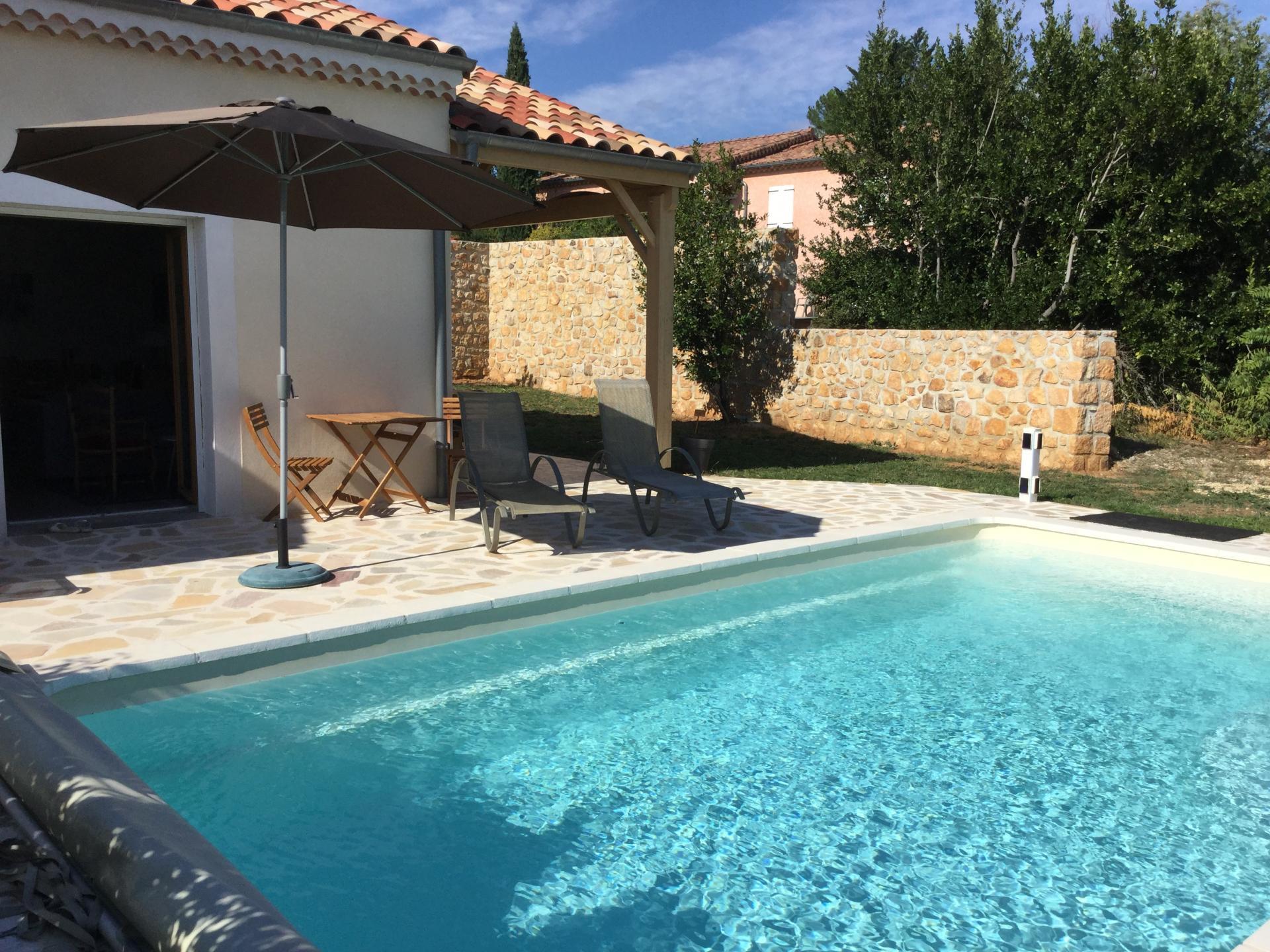 Piscine Villa Roussette